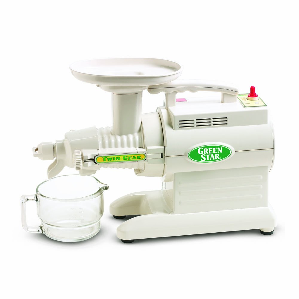 Tribest Green Star GS-3000-220V Deluxe Twin Gear Juice Extractor, 220V, NOT FOR USA USE (European Cord)
