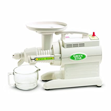 920a011e890f Amazon.com  Tribest GS-1000 Greenstar Original Twin Gear Cold Press  Maticating Juice Extractor