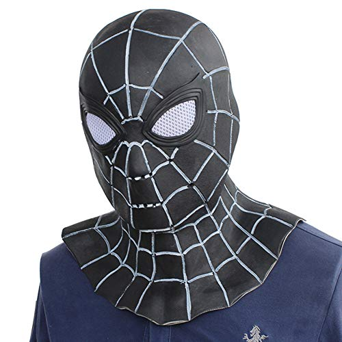 Abrante Costume Full Latex Adult Hood Mask,for Halloween or Cosplay Costume, Masquerade Party (Spider Man) -