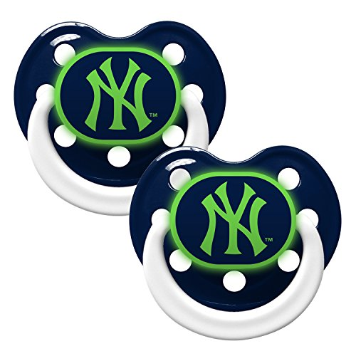 York Yankees 2 Pack Baby Pacifier