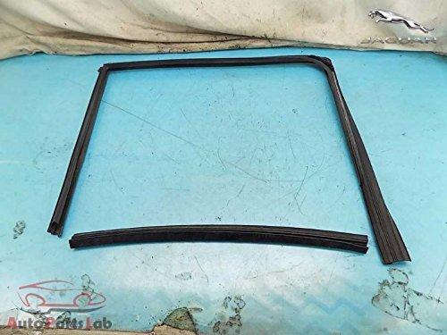 Jaguar Door Window Weatherstrip Seal Pair Rear Left Driver 4.2L S-Type