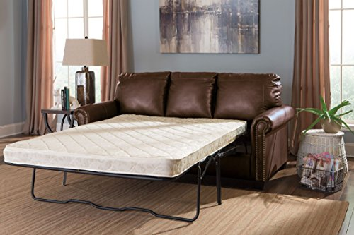 Ashley 3800036 Lottie Durablend Chocolate Full Sofa
