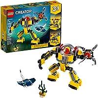 LEGO Creator 3in1 Underwater Robot 31090 Building Kit ,...