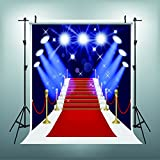 Maijoeyy 5x7ft Photography Backdrops Red Carpet Backdrop Mural Prom Backdrop Background Photography Props YY00021