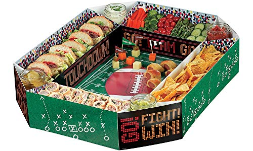 - Amscan Football Party Snack Stadium