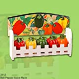 Bell Pepper FIESTA HANGING SPICE RACK