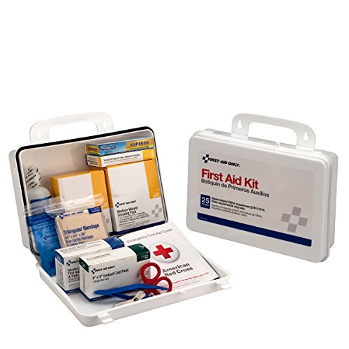 Price comparison product image Pac-Kit by First Aid Only 6430 143 Piece 25 ANSI Plus Weatherproof Plastic Case First Aid Kit