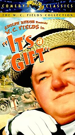 It S A Gift Vhs W C Fields Kathleen Howard Jean Rouverol Julian Madison Tommy Bupp Baby Leroy Tammany Young Morgan Wallace Charles Sellon Josephine Whittell T Roy Barnes Diana Lewis Norman Z