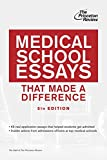 Medical School Essays That Made a Difference, 5th