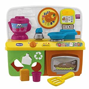 Chicco talking kitchen sound toy assorted for Cucina parlante chicco
