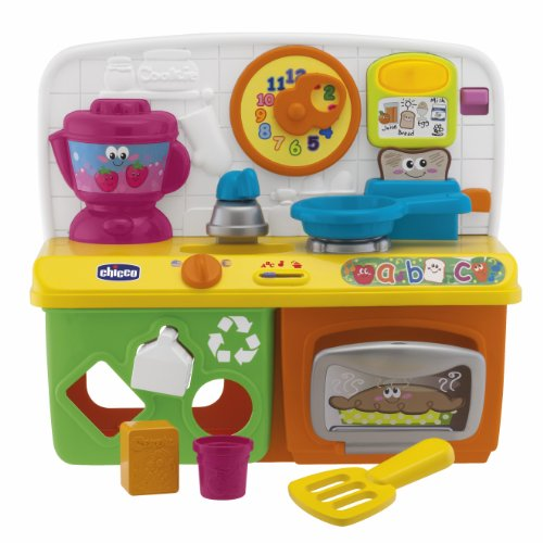 chicco talking kitchen sound toy assorted colours amazoncouk toys games
