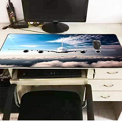 sxkdyax Vuelo en avión Nube Oficina Grande Escritorio de la ...