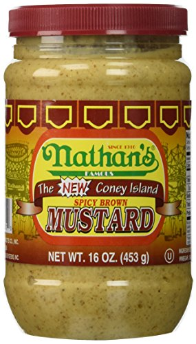 Nathan's Original Spicy Brown (Spicy Mustard Sauce)