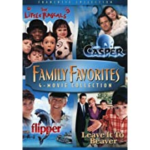 Family Favorites 4 Movie Collection (The Little Rascals / Casper / Flipper / Leave it to Beaver) (1994)