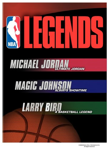 NBA Legends Giftset (Ultimate Jordan / Magic Johnson Always Showtime / Larry Bird A Basketball Legend)