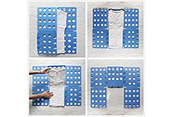Shoppiy Laundry Folder Clothes T-Shirts Pants Towels Fold Board Organizer Fast Easy and Fun Time Saver