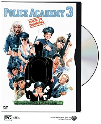 Amazon Com Police Academy 3 Back In Training Steve Guttenberg Bubba Smith David Graf Michael Winslow Marion Ramsey Leslie Easterbrook Art Metrano