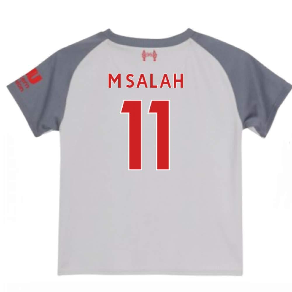 UKSoccershop 2018-2019 Liverpool Third Baby Kit (Mohammad Salah 11)