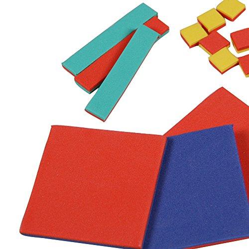 - hand2mind ManipuLite Foam Algebra Tiles Student Set
