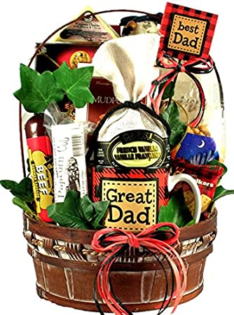 Gift Basket Village - A Great Dad! Gift Basket for Dad's - Loaded With Dad