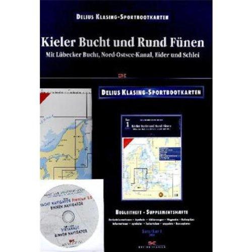 Kieler Bucht und Rund Fünen: Mit Lübecker Bucht, Nord- Ostsee-Kanal, Eider und Schlei