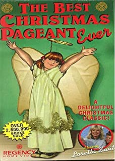 the best christmas pageant ever dvd - Best Christmas Pageant Ever Script