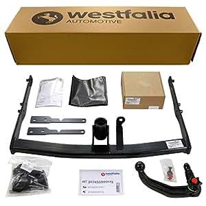 Westfalia 307455900113 - Enganche acoplable para remolque y cableado eléctrico específico para vehículos