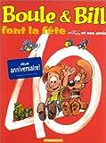 Boule et Bill : Boule et Bill font la fête, Spécial 40è anniversaire