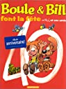 Boule et Bill - Hors Série : Font la fête par Roba