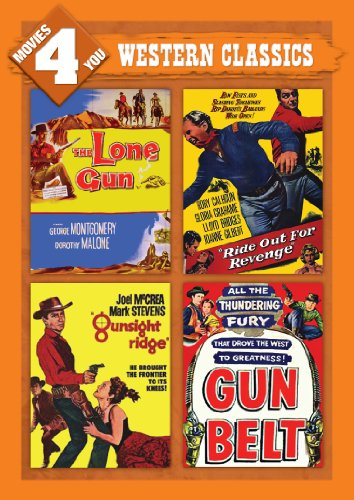 (Movies 4 You: Western Classics (The Lone Gun, Ride Out For Revenge, Gunsight Ridge & Gun Belt))