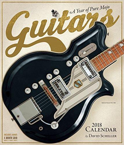 Guitars Wall Calendar 2018 (Antique Guitars)