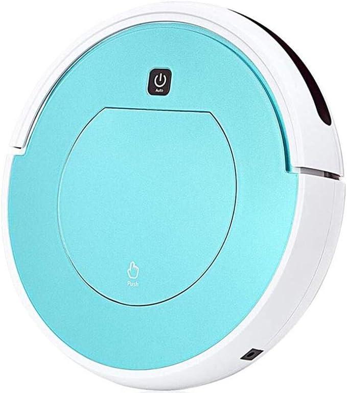 Robot Aspirador Con Barrer El Piso Aspirador De Una Sola Pieza 1300Pa Succión Fuerte, Súper Silencioso, Por Eufy Fácil Programa De Limpieza Para Pisos De Superficie Dura/Alfombras Delgadas,Blue: Amazon.es: Hogar
