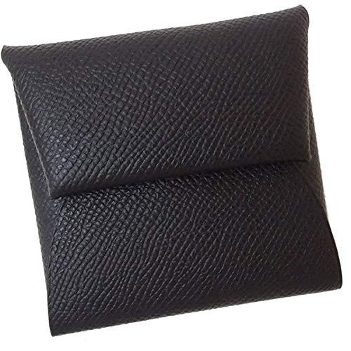 [エルメス] バスティア エプソン レザー ブラック コインケース コンパクトウォレット ミニ 財布 [並行輸入品] B07QFL36WQ