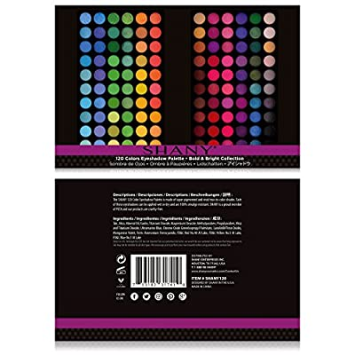 SHANY Eyeshadow Palette, Bold and Bright Collection