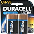 Duracell CRV3 Camera Battery, 3 Volt Lithium (2 Batteries)