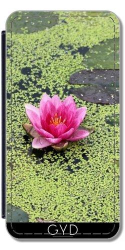 Leder Flip Case Tasche Hülle für Apple Iphone 7 / Iphone 8 - Asien Lotusblume Buddha by WonderfulDreamPicture