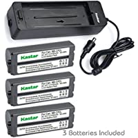 Kastar Battery NB-CP2L (X3) and Charger BG-CP200 for Canon NB-CP1L CP2L and Compact Photo Printer SELPHY CP100 CP200 CP220 CP300 CP330 CP400 CP510 CP600 CP710 CP730 CP770 CP780 CP790 CP800 CP900 CP910