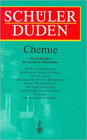 Duden Schülerduden Die Chemie Amazonde Hans Borucki