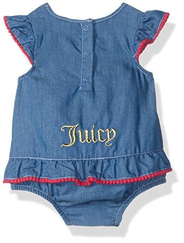 Juicy Couture Baby Girls' Sunsuit, Blue, 12M