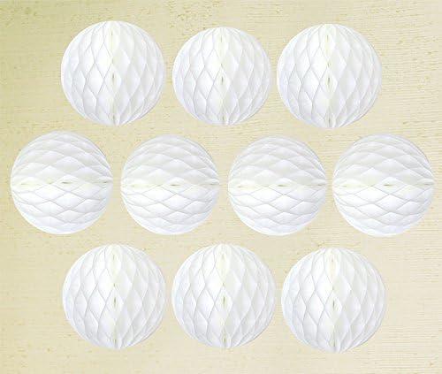 EP ハニカムボール 日本製 ホワイト 10cm 10個入り 白