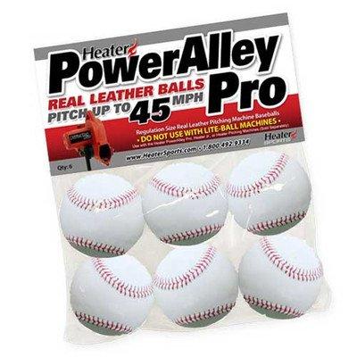 poweralley white leather balls