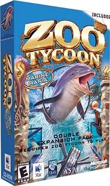 Amazon.com: Zoo Tycoon: Marine Mania and Dinosaur Digs