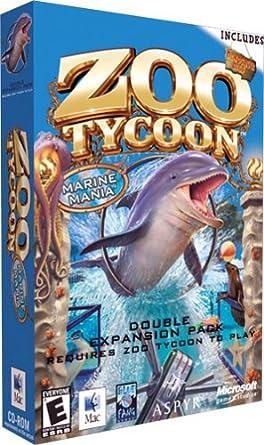 zoo tycoon marine mania no cd