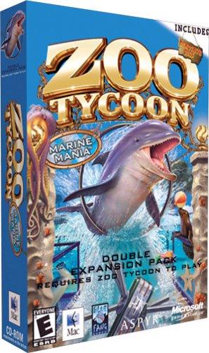 Amazon com: Zoo Tycoon: Marine Mania and Dinosaur Digs Expansion