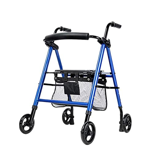Folding Walker YX Andador Plegable, Marcos Regulables en Altura ...