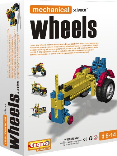 Engino Mechanical Science: Wheels and Axles, Baby & Kids Zone
