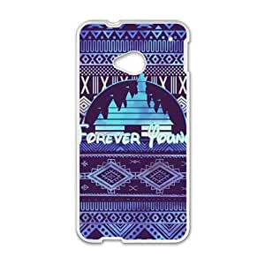 HRMB Forever Young Cell Phone Case for HTC One M7