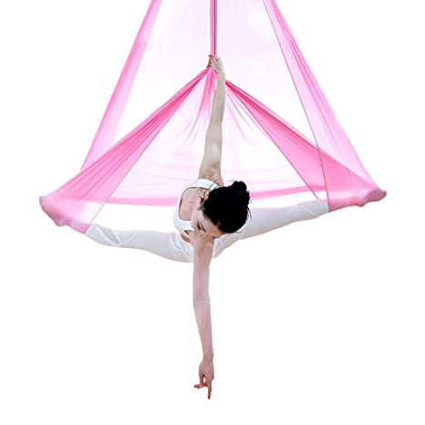Amazon.com : Aerial Yoga Hammock Anti-Gravity Aerial Yoga ...