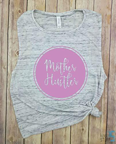 8583da4fd Mother Hustler Tank, Mom LIfe, Mom Shirt, Mom Hustle,Shirts for Moms, Trendy  Mom T-Shirts, Cool Mom Shirts, Mothers Day Gift, Shirts for Moms, Funny Mom  ...