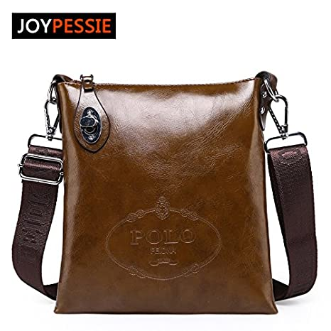 Genric blue, 22W3T24cmH   2016 Hot Sale Brand Men Specials Messenger Bag PU  leather Casual d9429123dd